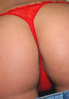 these milfs are super hot in the red bikini movies