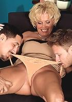 Trixie's ass-fucked, three-way encore