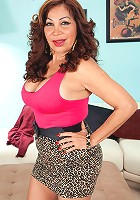 Sandra Martines - A big-titted, big-assed, 57-year-old, Latina divorcee
