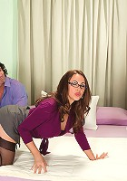 Two cocks for the 50Plus MILFs Queen of Anal at Erotic Mature Ladies