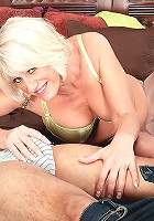 Desire Collins - First-timer Desire desires a creampie