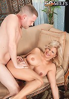 Miss Deb - Big tits, pierced pussy, anal and a creampie, too!