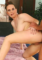 Erin's juicy curves, soft soles and tight holes are going to make her guy pop!