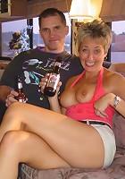 Beer Bottle In My Pussy!