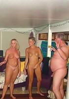 Gang bangin pajama party