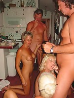 Swapping our wives pussy