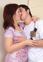 Judith&Adam sex with mature prettie