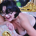 Lillian M&Hetty naughty lesbian mom sex