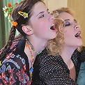 Susanna&Beatrice lesbian MILF fucks girl