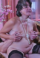 Lillian M&Rolf pantyhosefucking nasty mature bitch