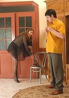 Penelope&Adam pantyhosefucking great mature babe