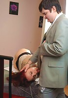 Lillian&Adam pantyhosefucking eager mature bitch