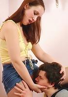 Judith&Nikola pantyhosefucking hot mature bitch