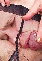 Rebecca&Marcus pantyhosefucking amazing mature bitch