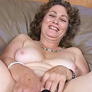 Still lustful granny uses her sex toy to maintain her libido level