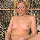 pretty granny spreads her nice messy pussy
