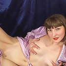 Glamorous nude mature beauty with juicy breasts