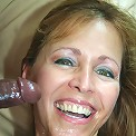 Wrinkled blonde Lisa Lipps taking heaps of black cock ramming in her pussy and gets nasty facial