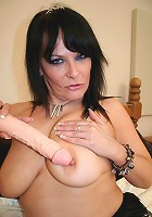 Hot English MILF playing with herself