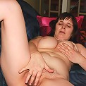 This naughty housewife loves playing with herself