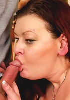 Big mature lady is getting fucked by her toy boy