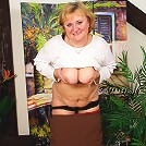 Big titted mama showing her body