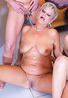 A very hot fucking mature special party