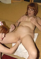 Red mature sl;ut getting fisted by the kinky nurse