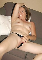 This hot mature mama loves her pussy filled with fist
