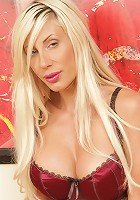 Anilos Puma Swede looks so sexy in her sultry red thong