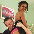 Ebony MILF Neela gets her shaven mature pussy stuffed with cock
