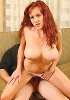 Busty Bailey shows us how experienced she is with cock