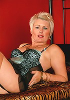 Sally T from AllOver30 shows off a perfect mature body in here