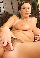Hot hairy pussy on this 38 year old Czech MILF