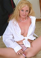 34 year old Michelle displays a perfect over 30 body in here