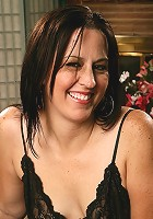 Kim\'s beautiful 34 year old body looks amazing in her black lingerie