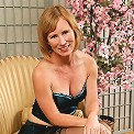 Gorgeous MILF Cheyanne looks spicy hot in her sexy lingerie