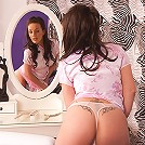 Marlyn gets naughty on her bed!