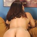Mature wife Natasha Oliwski drops her panties around her ank...