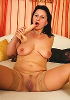 Hot MILF takes on big cock! We all win!
