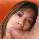 Mature Asian MILF does some sucky-sucky-fucky-fucky!