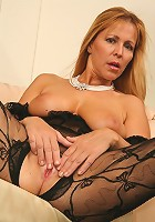 50 year old MILF is smokin' hot and down for black cock!