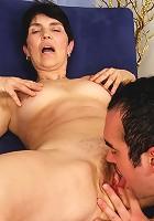 Grandma polishes her well practiced fucking skills!