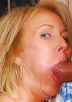 Hot granny loves to fuck and suck!