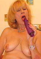 60 plus Grandma loves the dick!