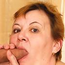 Dirty Grandma can't get enough dick!
