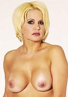 Hot blonde MILF fucks and sucks!