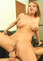 Hot and Horny Housewife has her needs filled with a nasty DP!