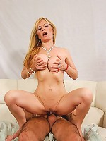 Sexy housewife slut takes a hard ass fucking!