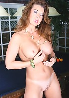 Horny housewife slut slurps dick for dollars!